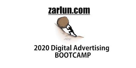 2020 Digital Advertising BOOTCAMP Online Webinar EB tickets