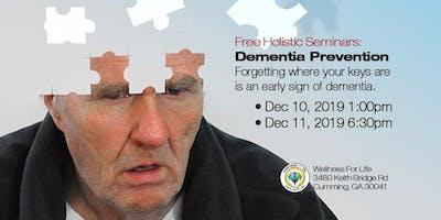 Dementia - FREE Health Seminar