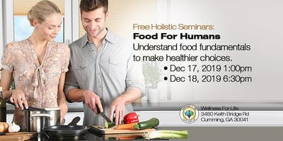 Food For Humans - FREE Health Seminar