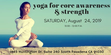 Yoga for Core Awareness &  Strength tickets