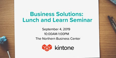 Business  Solutions Lunch and Learn Seminar tickets