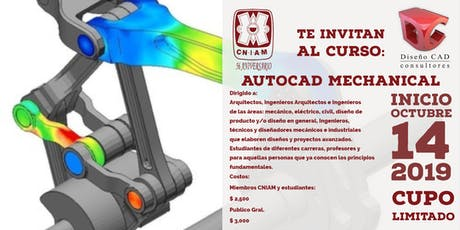 AUTOCAD MECHANICAL entradas