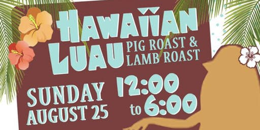 Hawaiian Luau Pig and Lamb Roast