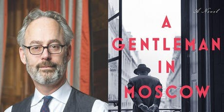An Evening with Amor Towles  tickets