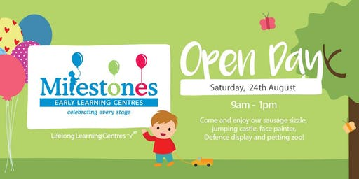Milestones Early Learning The Lakes Open Day