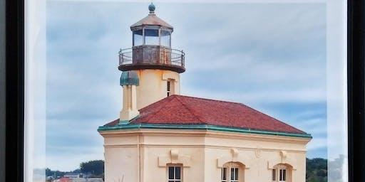 Lighthouse Collograph Printing