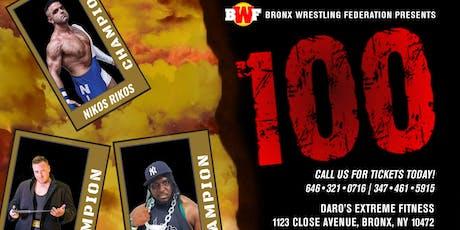 BWF Wrestling Live October 5th BRONX NYC Tickets, Sat, Oct 5