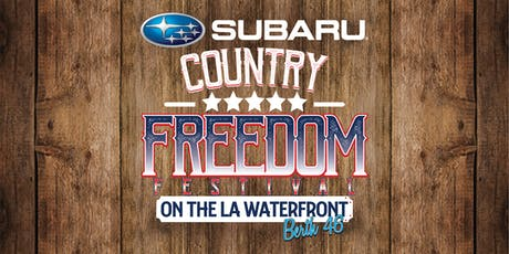 Subaru Country Freedom Festival tickets