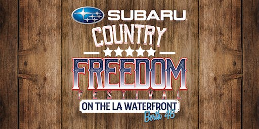 Subaru Country Freedom Festival ft. Chris Janson