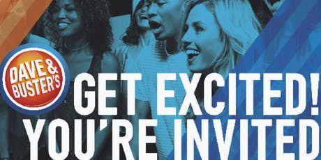 2019 Dave & Busters Desert Ridge Phoenix/Scottsdale, AZ - VIP Showcase tickets