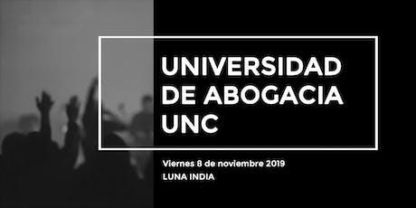 Universidad Nacional de Cuyo, Facultad de Abogacia entradas