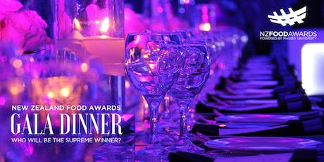 New Zealand Food Awards Gala Dinner 2019 tickets