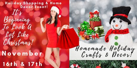 It's Beginning To Look A Lot Like Christmas! Holiday Home Decor & Shopping! tickets