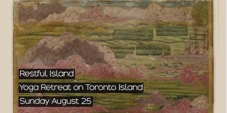 Restful Island: Yoga Retreat on Toronto Island tickets