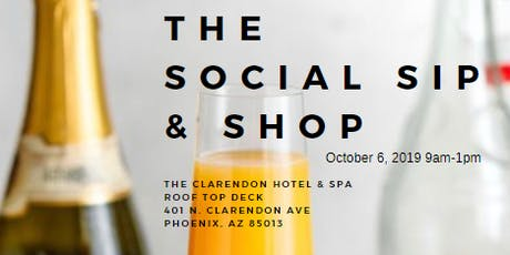 The Social Sip & Shop tickets