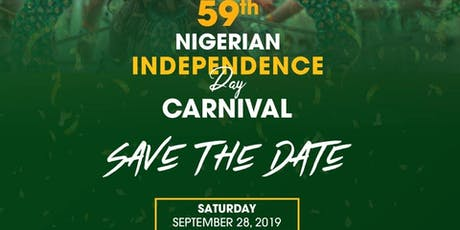 59th Annual Nigerian Independence Day Carnival tickets