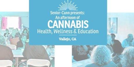 SENIOR-CANN Presents: An afternoon of Cannabis, Health, Wellness & Education tickets