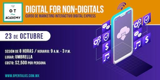 DIGITAL FOR NON DIGITALS - CURSO DE MARKETING INTERACTIVO DIGITAL EXPRESS
