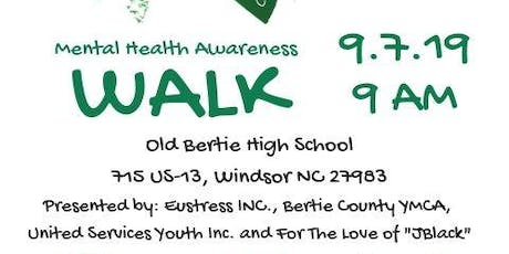 4th Annual Let's Talk About It Mental Health Awareness Walk: Bertie County tickets