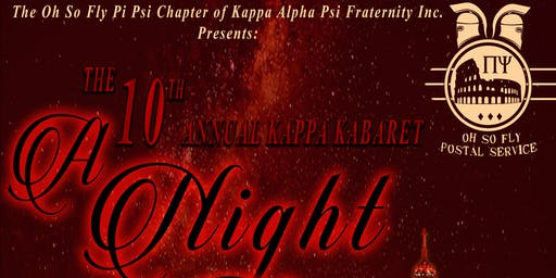 10th Annual Kappa Kabaret: A Night in Paris