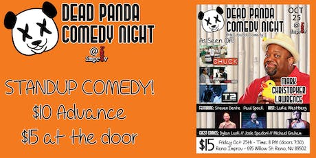 Comedian Mark Christopher Lawrence of CHUCK - Dead Panda Comedy Night tickets