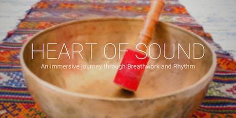 Heart of Sound: An immersive journey through Breathwork and Rhythm tickets