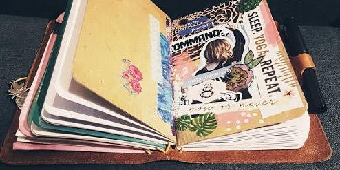 Mini Mondays - Imagine with Art Journaling