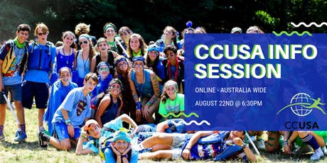 Online Camp Counselors USA 2020 Info Session tickets