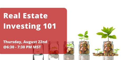 Real Estate Investing 101 Class tickets