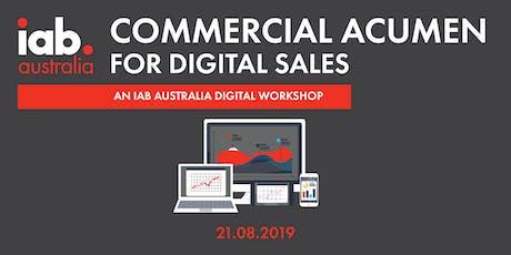 Commercial Acumen for Digital Sales - IAB Workshop tickets