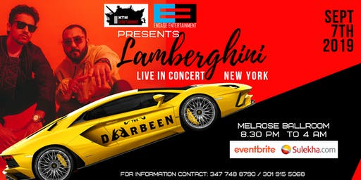 Lamberghini NewYork Concert