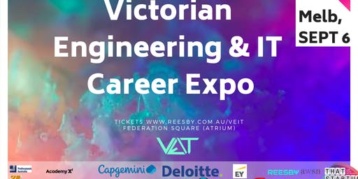 Victorian Engineering and IT Graduate Career Expo (SEPT 6th 2019)