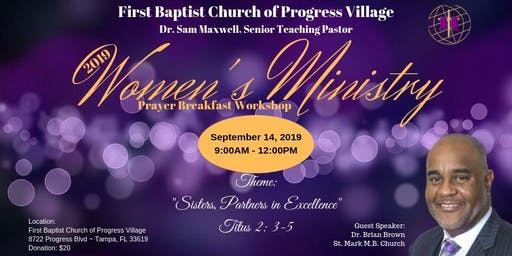 Women's Ministry Prayer Breakfast