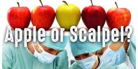 Apple or Scalpel tickets
