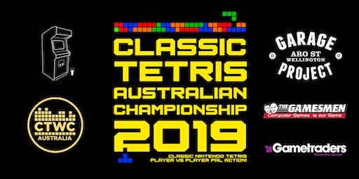 Classic Tetris Australian Championship 2019