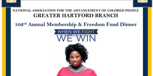 Greater Hartford Branch NAACP 102nd Annual Freedom Fund Dinner