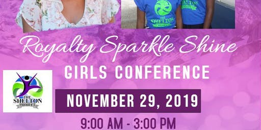 Royalty Sparkle Shine Girls Conference