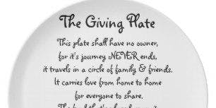 Make Your Own Giving Plate