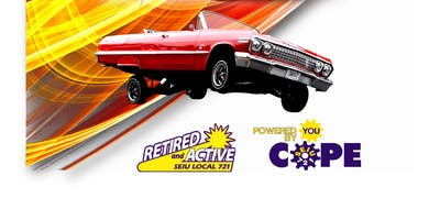 SEIU 721 Union Member Car Show and Retiree Reunion -RIVERSIDE