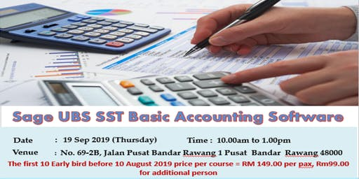 Sage UBS SST Basic Accounting Software