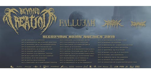 Beyond Creation, Fallujah, Arkaik and Equipoise