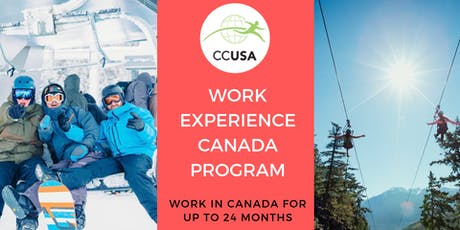 Work Experience Canada Online Information Session  tickets