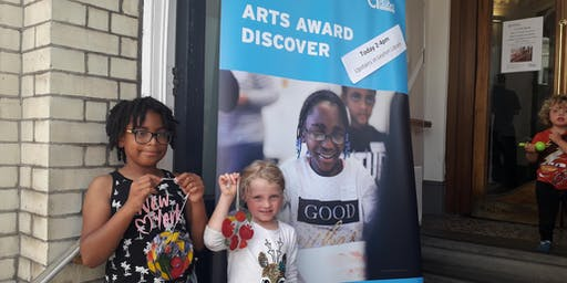 Discover & Explore Arts Award Adviser Training for Waltham Forest