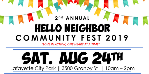Hello Neighbor Community Fest 2019