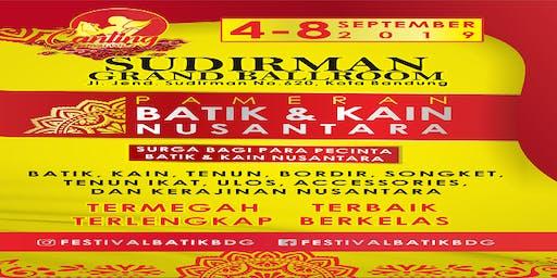 Canting Festival Vol 2 Pameran Batik & Kain Nusantara