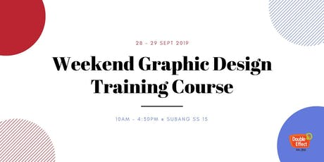 Weekend Graphic Design Training Course (SEPT) tickets