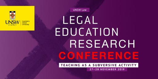 Legal Education Research Conference