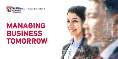 Nanyang Business School Postgraduate Fair 2019 tickets