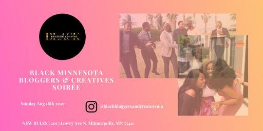 Black MN Bloggers & Creatives Magazine Launch Soirée