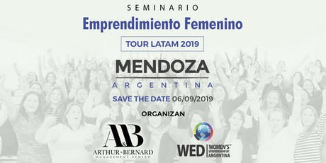 Seminario Emprendimiento Femenino TOUR LATAM 2019 Mendoza entradas